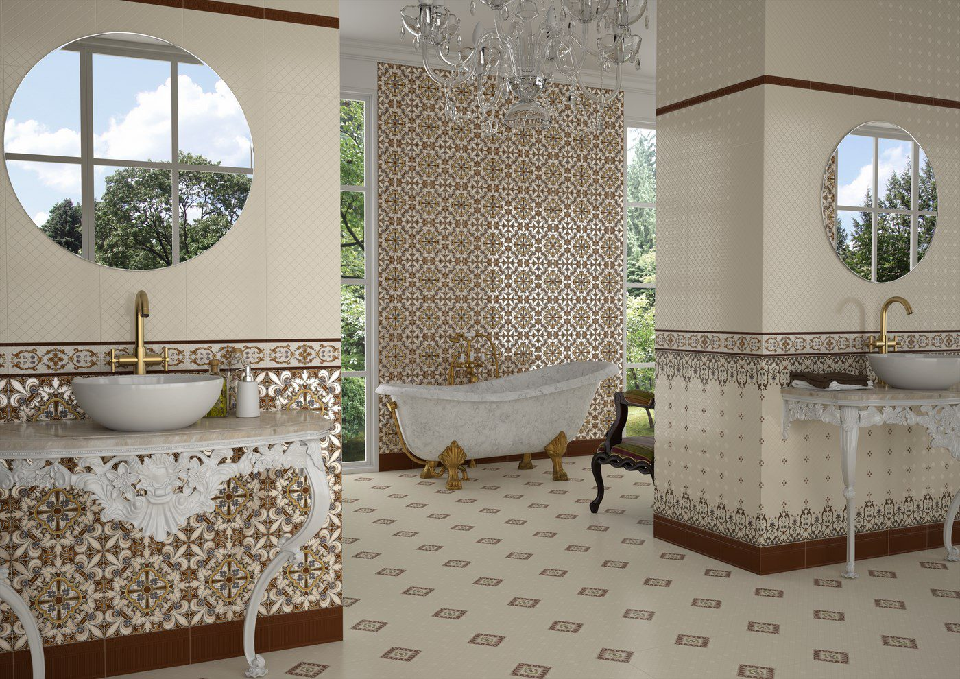 cerámicas Venus estilo Alhambra
