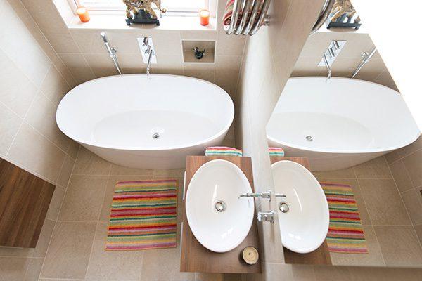 diseño de cuartos de baño pequeños