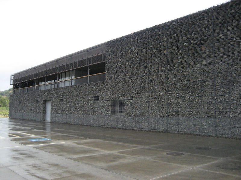 Bodega Dominus, arquitectura prodigiosa